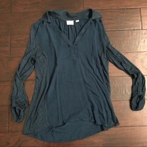 Anthropologie Postmark Top Size Small